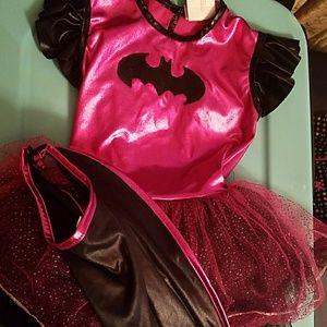 Batman tutu toddler dress